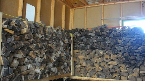 wood to be included in sale of home