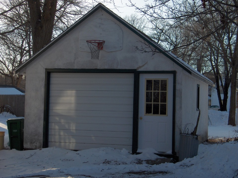 garage with opener