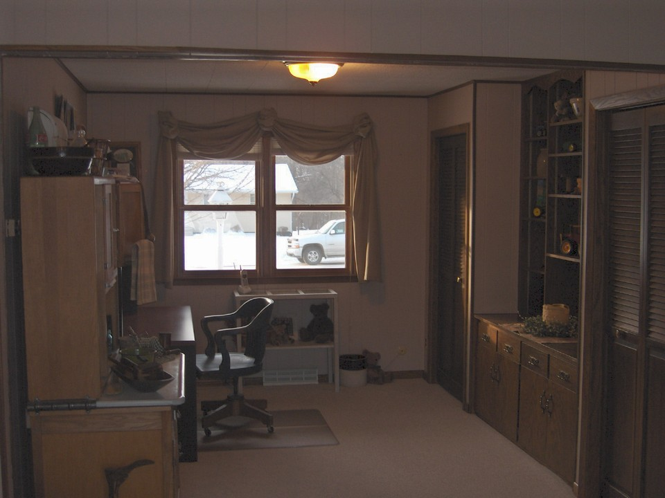 office or potential bedroom still on the main floor.