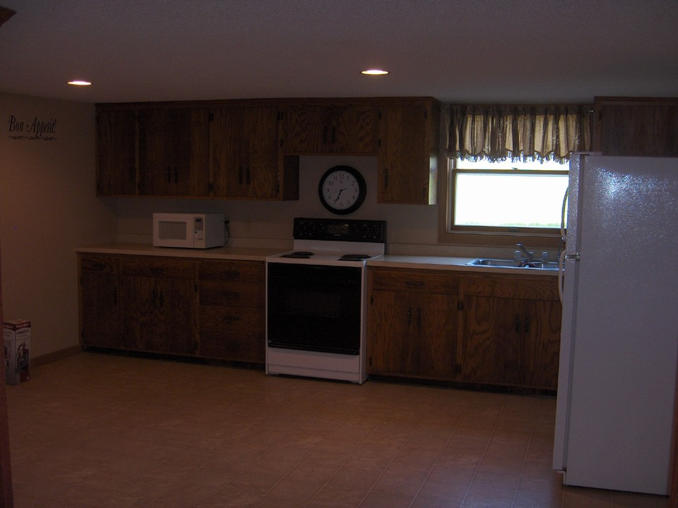kitchenette in basement or good for wet bar