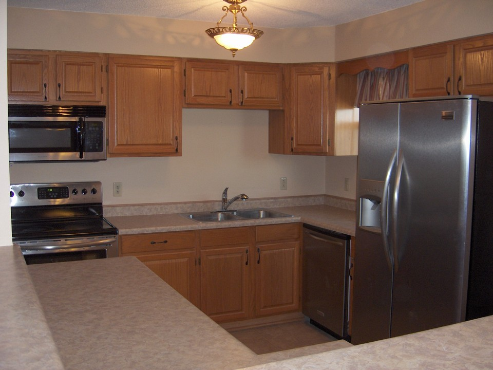 all new kitchen