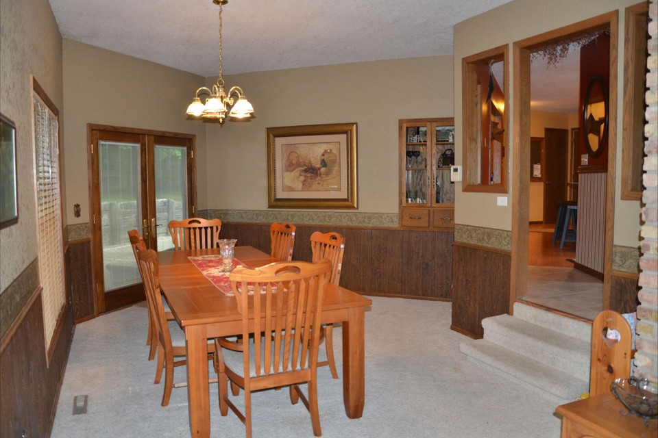 formal dining room  just off of the kitchen