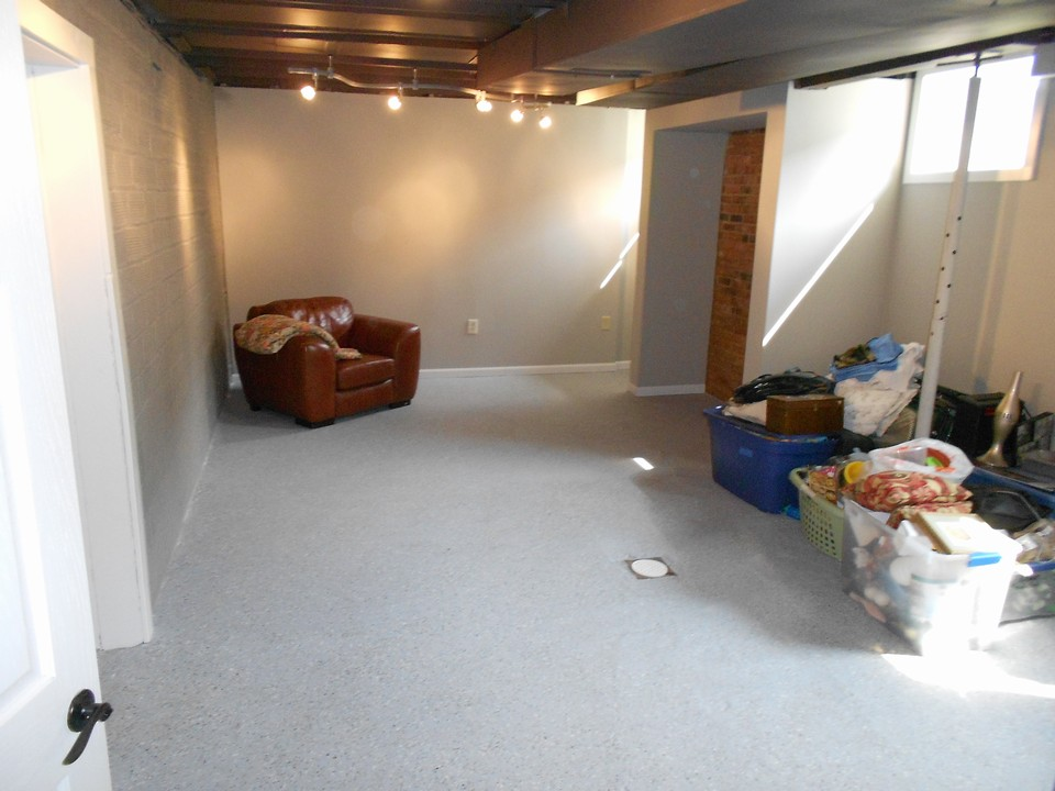 basement living area