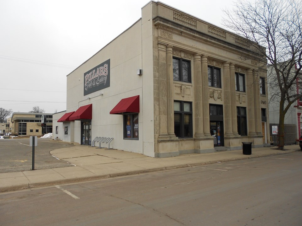 historic building off street parking and street parking available.  great location, right on main street.  lots of windows for natural light.