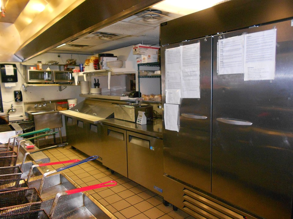kitchen and serving