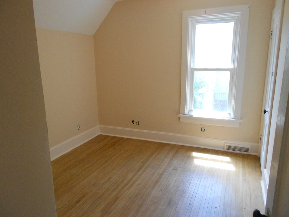 bedroom three hardwood floors.  other bedrooms have hardwood under the carpet.
