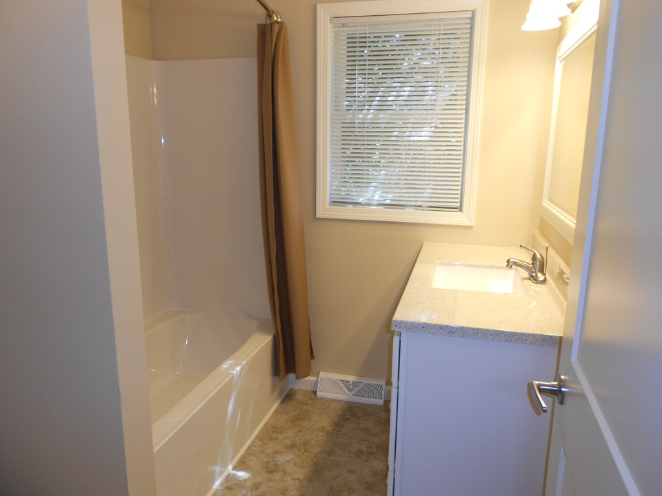 all new bathroom