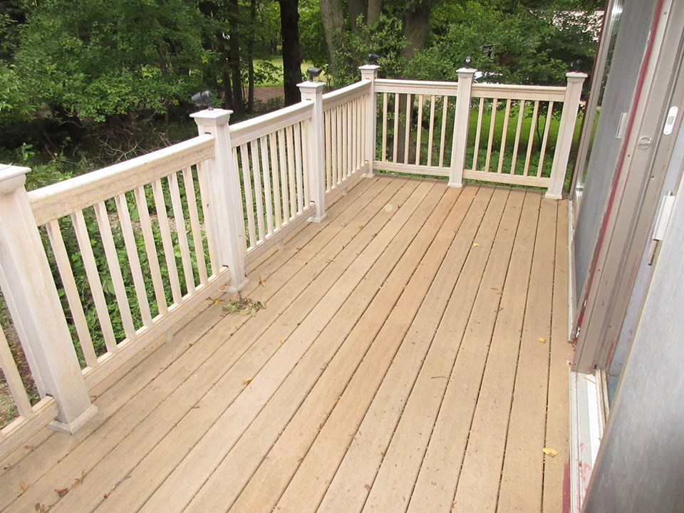 smaller permanent deck