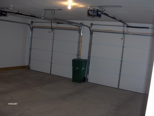 interior of garage