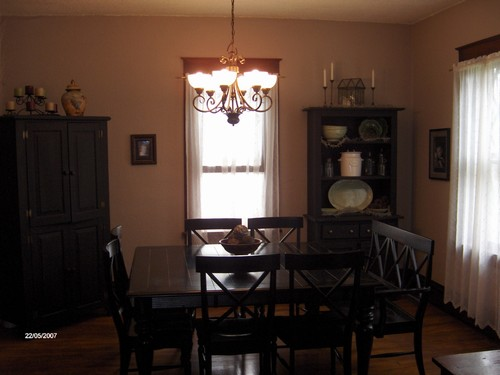 formal dining room hardwood floors
